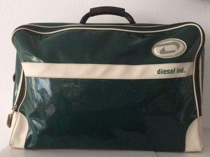 Vintage rare green Diesel Ind. travellerbag or weekender by MORETHANVINTAGENL on Etsy