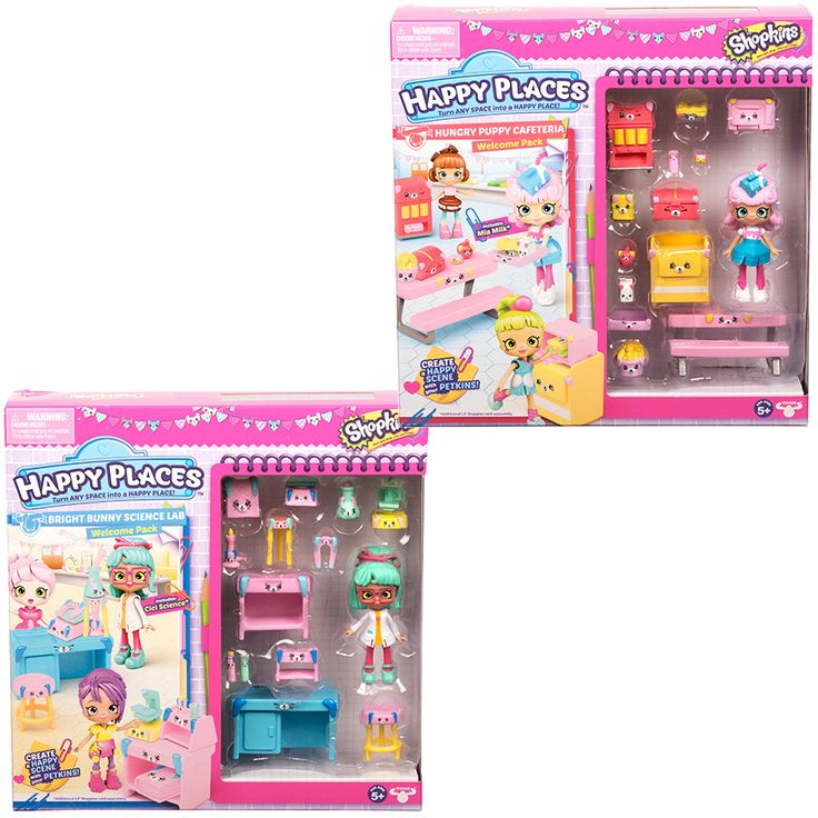 Happy Places Shopkins Season 3 Wave 1 Welcome Pack - Assorted | Toys R Us Babies R Us