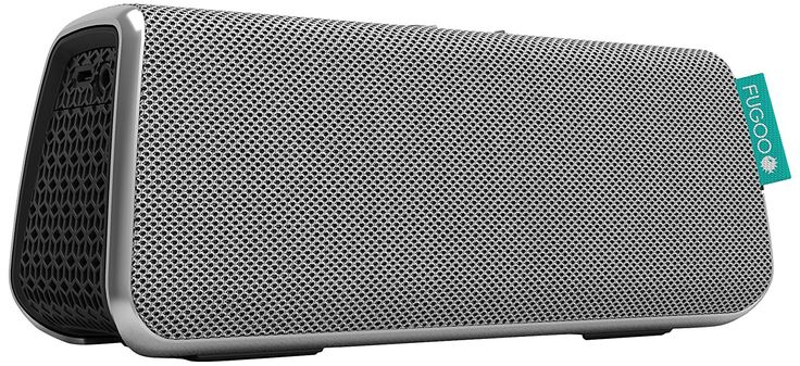 FUGOO Style Portable Bluetooth Surround Sound Speaker with Built-In Speakerphone (Silver): Amazon.ca: Electronics