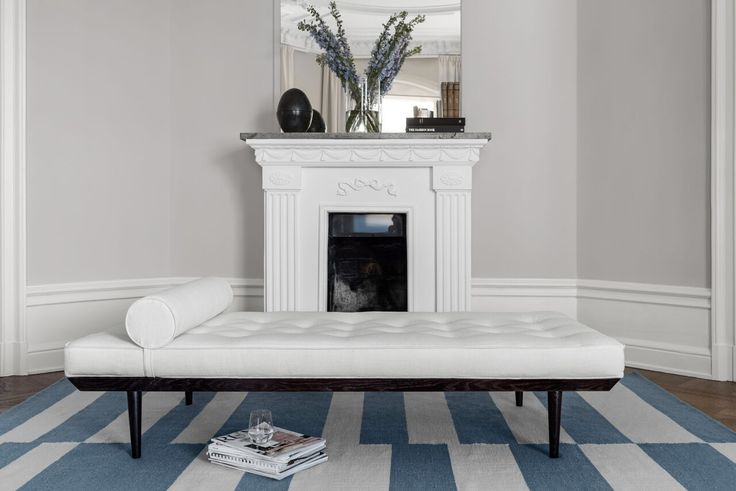Layered's  Ritzy Daybed Off White. The design was inspired by a daybed in a Parisian apartment, this is a classic elegant piece with a bohemian signature. The daybed can be used as a single statement piece or as part of a traditional seating group, as a sofa or an extra seating place. Europe Free Shipping. See more at: http://layeredinterior.com/product/ritzy-daybed-2/