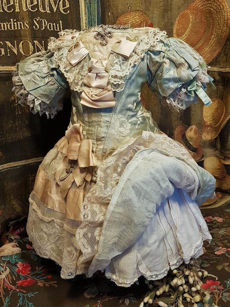 ~~~ Outstanding French Silk one of a Kind Costume ~~~ from whendreamscometrue on Ruby Lane