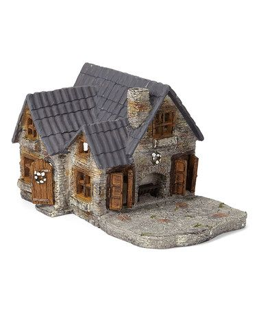 Loving this Hinged Door Mini Yorkshire House Fairy Garden Décor on #zulily! #zulilyfinds