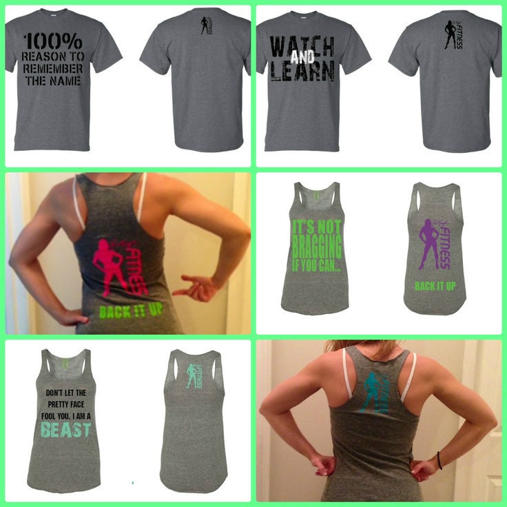 New #fitness #apparel line.  Women's #tanktops and men's #tshirts - check 'em out at http://www.mcssl.com/store/jleighfitnessinc  #gym #gymmotivation #workout #wear #clothes