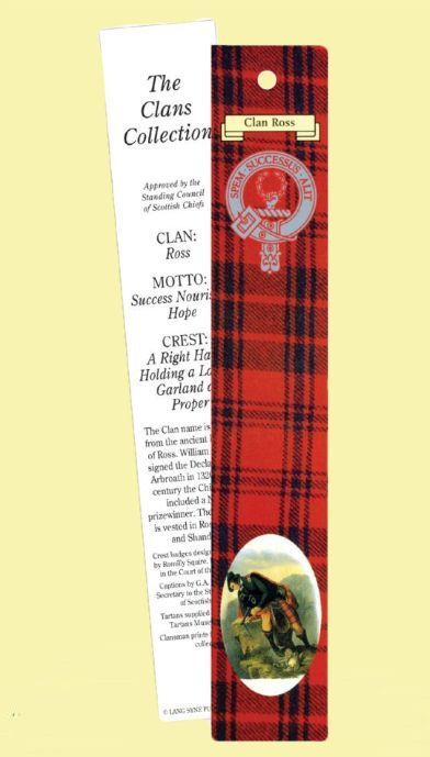 For Everything Genealogy - Ross Clan Tartan Ross History Bookmarks Set of 2, $3.00 (http://www.foreverythinggenealogy.com.au/ross-clan-tartan-ross-history-bookmarks-set-of-2/)
