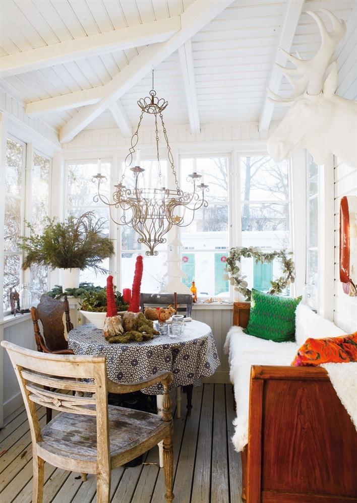 Christmas in Swedish house