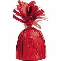 62 - Barnyard Bash Balloon Weight Balloon Weight Heavy Red (190g) - Each