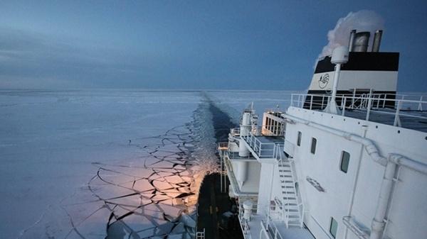 Neue Seewege: Das Schiff, das aus der Kälte kam