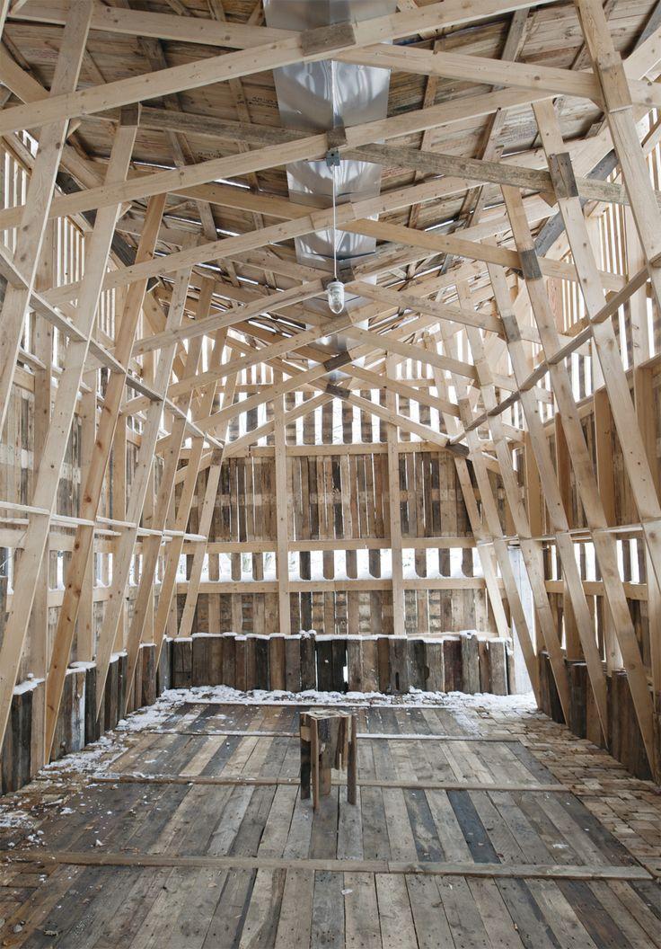 Studio Tom Emerson Eth 96 Hands Pavilion Zurich 2010