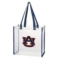 AU Clear Stadium Bags
