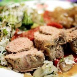Olive Stuffed Pork @ allrecipes.com.au