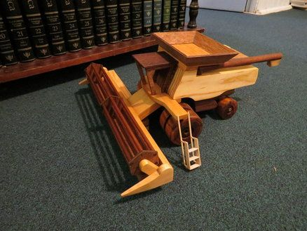 Toy John Deere Combine Harvester