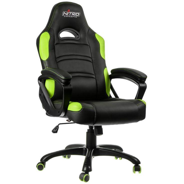 One Computer Nitro Concepts C80 Comfort Gaming Stuhl schwarz gr├╝n: Category: AKRACING Item number: 20586603951 Vendor: One…%#Quickberater%