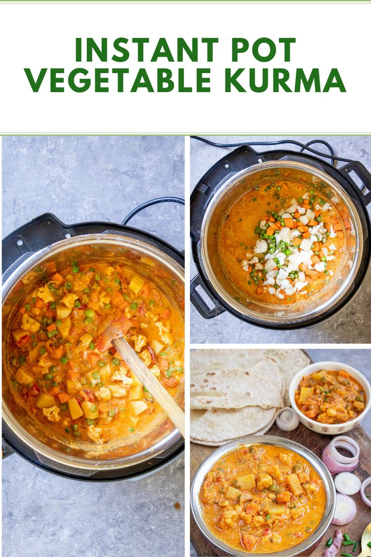 Jul 20, 2020 – Recipe for vegetable kurma – step-by-step instructions to make this healthy restaurant-style rich curry l…