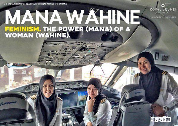Mana wahine - feminism. The power (mana) of a woman (wahine).