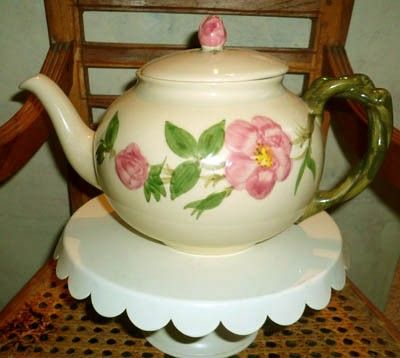 Antique Teapot Pink Roses Franciscan China Hand Painted. Franciscan WareDesert RoseChina ... & 55 best Franciscan China - Desert Rose images on Pinterest | Desert ...