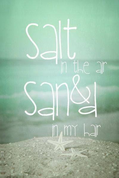 Salt In The Air & Sand In My Hair