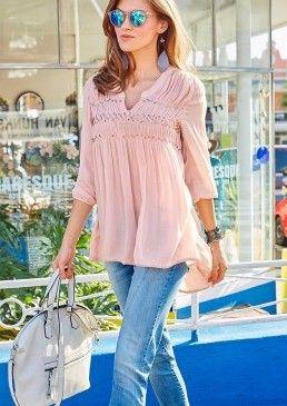Dlouhá halenka, Aniston #avendro #avendrocz #avendro_cz  #fashion #discount #blouse