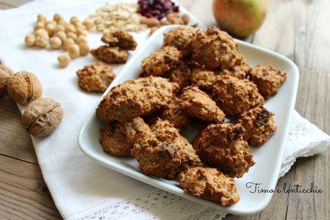 I biscotti del Dott. Berrino: Meravigliosi e sani biscotti a basso indice glicemico, senza zucchero, uno tira l'altro.....