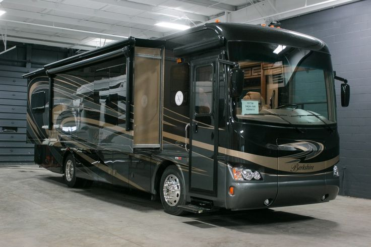 LUXURIOUS MOTORHOME FOR SALE!!!  2016 Forest River Berkshire 34QS-340 A sweet 35' long! A Private master bedroom for you with a king bed and a huge wardrobe! A sleeper sofa for family or guests! Tons of overhead storage throughout the RV! Cook up meals in your lovely kitchen and sit at the booth dinette to eat! Relax on your sofa for a movie! Comfortable driving seats will have you cruising from adventure to adventure! Call our Berkshire expert Evan Shepard 616-863-7444