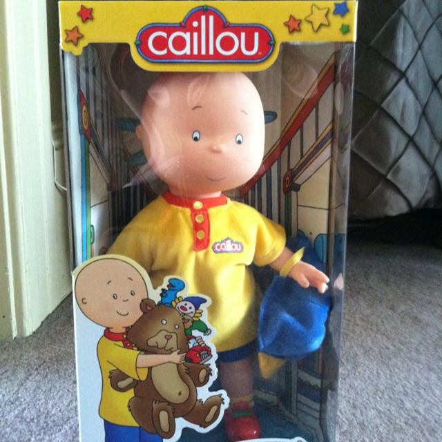 Toys R Us Chucky : Caillou doll from toys r us things my girls love