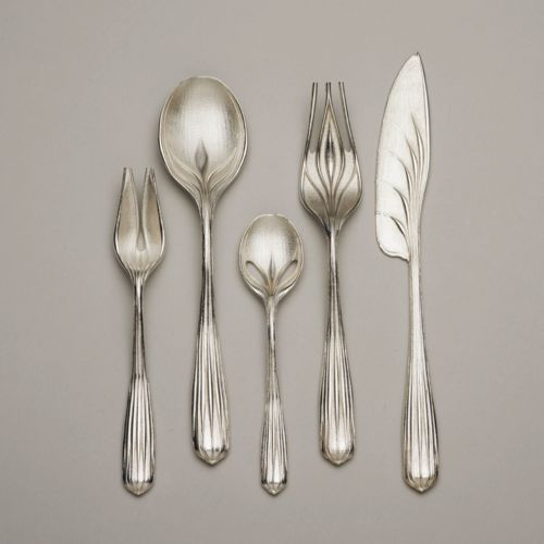 Greg Lynn a contemporary artist and architect this flatware design has been…