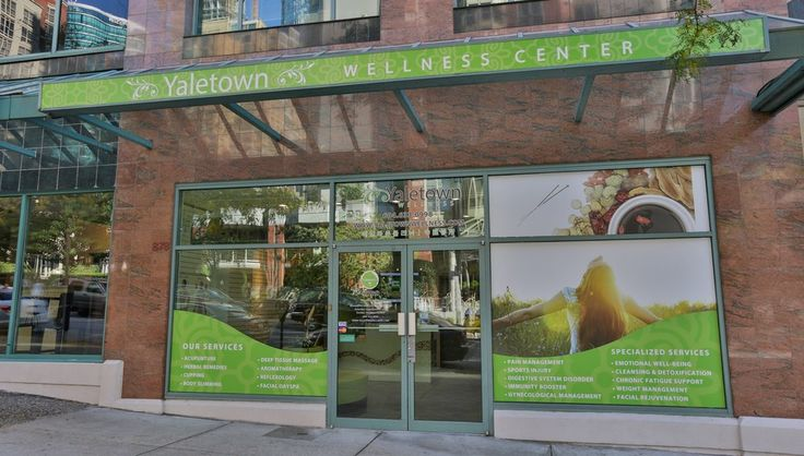 Yaletown Wellness Center  Vancouver, BC, Canada.      -FRONT VIEW-