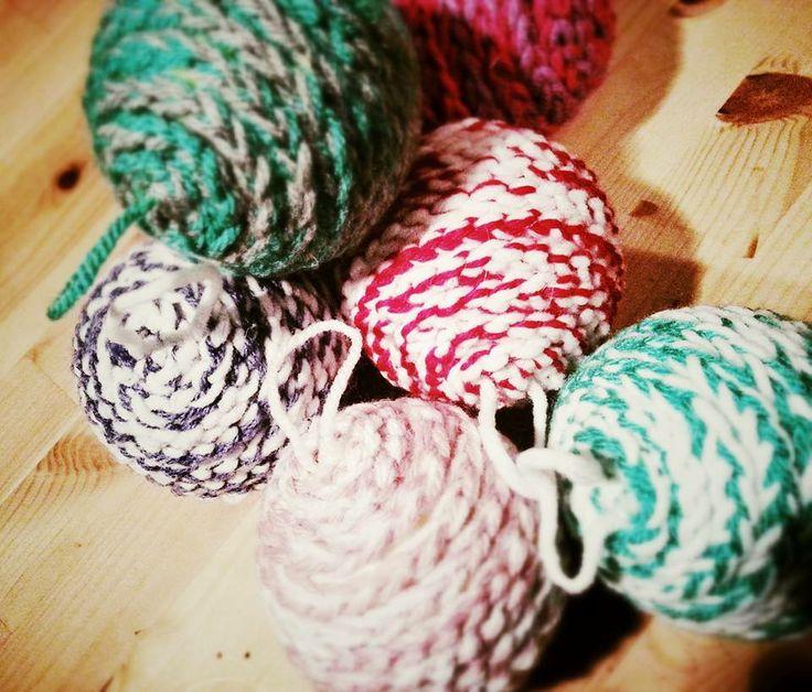 Decorazioni natalizie - crochet