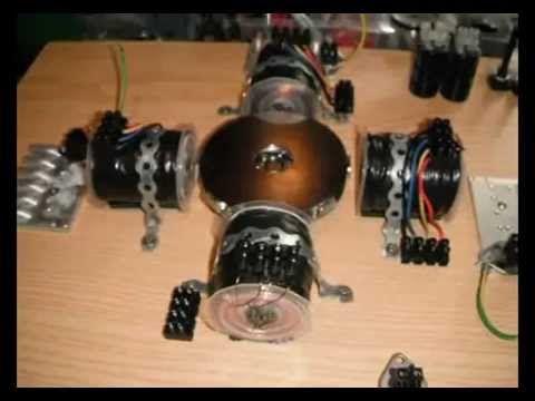 Motor Generador Bedini 8 Imanes 4 Bobinas Youtube