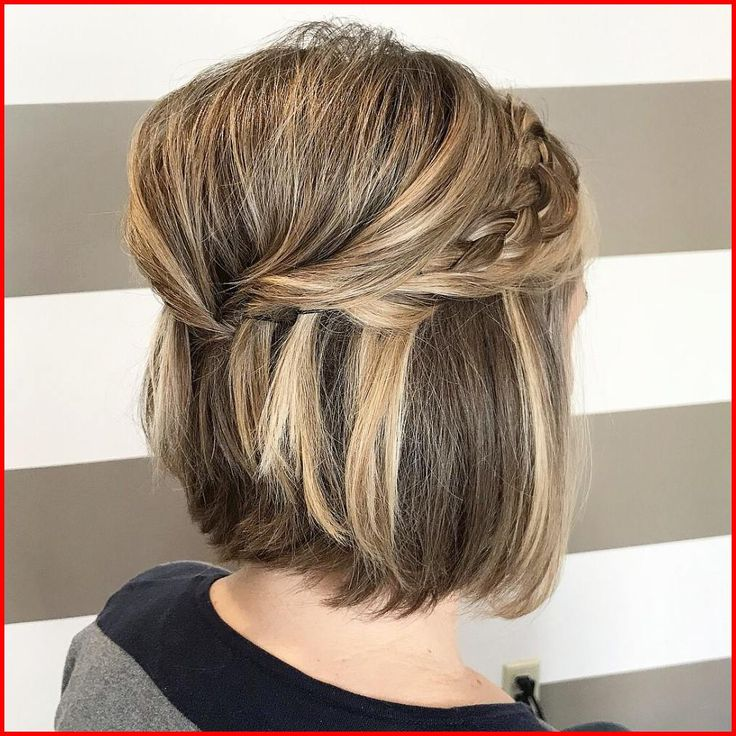 Marriage ceremony Hairstyles for Brief Hair Updos