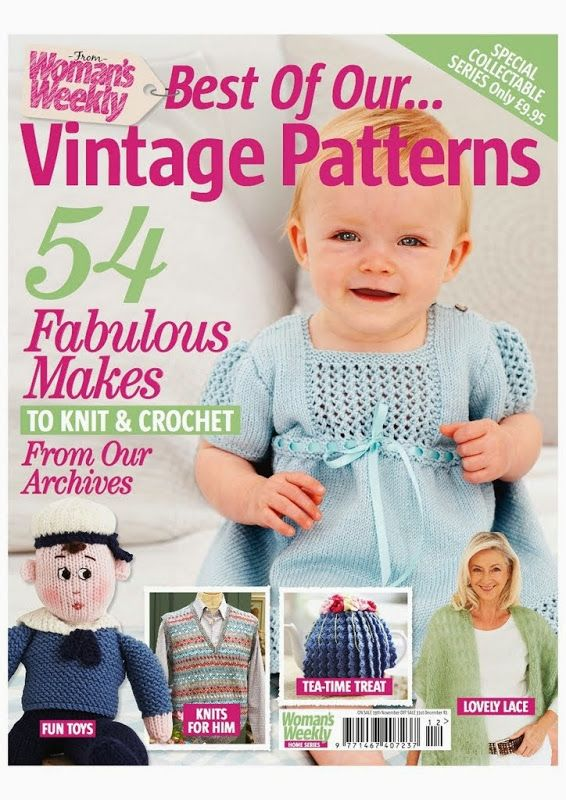 Woman's Weekly Best of Our & Vintage Patterns 2013 11-12