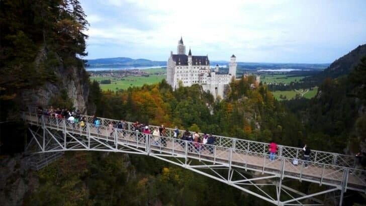 Marienbrucke Germany Neuschwanstein Castle Germany Castles Scary Bridges