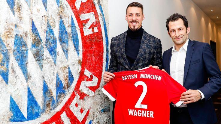 Atacantul Sandro Wagner va sosi la Bayern Munchen, în luna ianuarie, de la Hoffenheim, după ce a semnat un contract pe doi ani și jumătate.