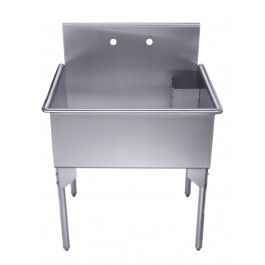 Stainless Steel Laundry Tub With Legs : 17+ best images about Laundry Sinks on Pinterest Wall mount ...