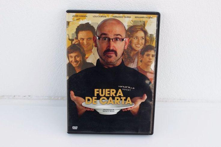 FUERA DE CARTA - DVD - JAVIER CÁMARA - LOLA DUEÑAS - FERNANDO TEJERO