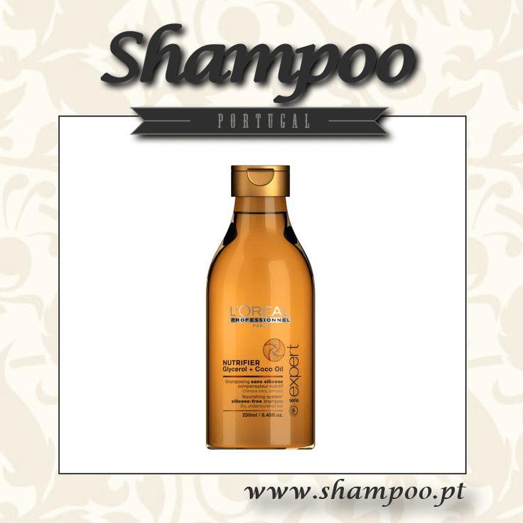 Shampoo nutritivo sem silicone para cabelos secos e desidratados. Uma fórmula profissional enriquecida com glicerol e óleo de côco numa textura leve que confere a dose certa de nutrição. Nutrido, o cabelo transforma-se instantaneamente: mais suave, mais s