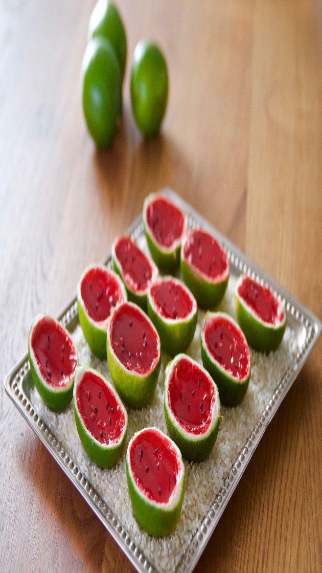Best Bites: Watermelon tequila jello shots via @AOL_Lifestyle Read more: https://www.aol.com/article/2016/08/04/best-bites-watermelon-tequila-jello-shots/21444564/