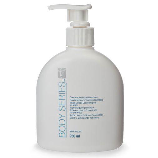 BODY SERIES™ Υγρό Σαπούνι Χεριών – 250ml  Η σύνθεση του συμπυνωμένου κρεμοσάπουνου προσφέρει απόλυτα υγιεινή καθαριότητα και ενυδάτωση. Ακόμη και ιδιαίτερα έντονες μυρωδιές εξουδετερώνονται με μια μόνη χρήση. Σύνθεση που ενυδατώνει και καθαρίζει την επιδερμίδα σας με ήπια συστατικά από καλαμπόκι και καρύδα. Με ισορροπημένο pH.  http://home-beauty.gr/amway/body-series-%CF%85%CE%B3%CF%81%CF%8C-%CF%83%CE%B1%CF%80%CE%BF%CF%8D%CE%BD%CE%B9-%CF%87%CE%B5%CF%81%CE%B9%CF%8E%CE%BD-250ml/