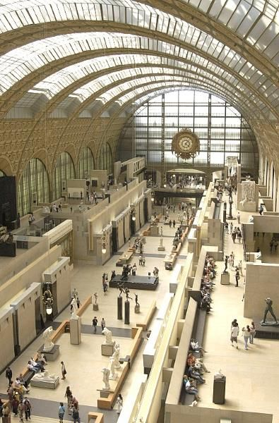 Musee d' Orsay  Paris, France  Built inside an old train station, it feels immensely large and has beautiful lighting, as well as some wonderful van Goghs not completely commercialized.