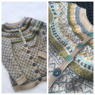 #knitting #knittingaddict #beautiful #love #loveit #wiola #røverkofta #handmade #
