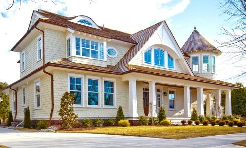 107 best beach house exterior colors images on pinterest for Century custom homes