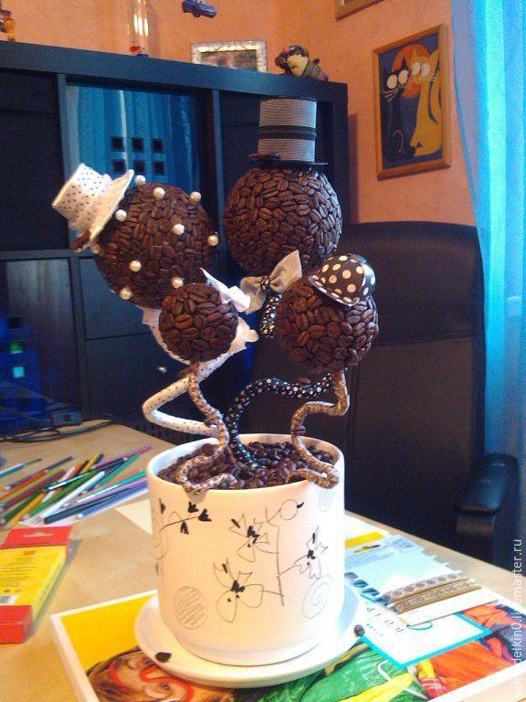 Купить Топиарии ручной работы или заказать в интернет-магазине на Ярмарке Мастеров, Цветы и флористика