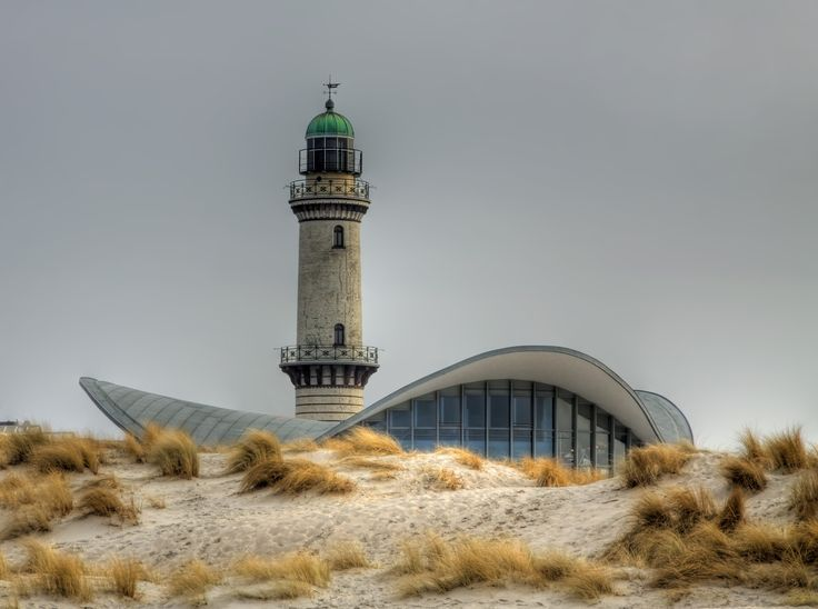 Rostock: #lighthouse in Warnemünde (#Germany) http://www.roanokemyhomesweethome.com