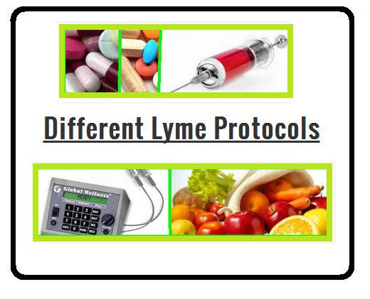 Different Lyme Protocols Not everyone can get to an LLMD or responds to antibiotics well. Please remember not to give up hope. There are a lot of different treatment types or protocols for Lyme Disease.  Different Lyme Protocols, Treatments and Tools Adrenal Fatigue Treatment This is a great website about …