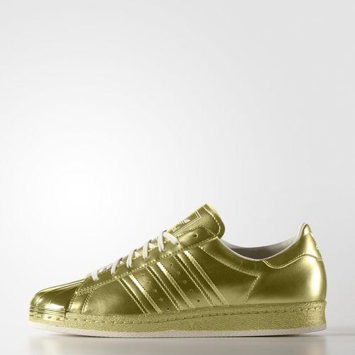 adidas Superstar 80s Metallic Shoes - Gold | adidas US