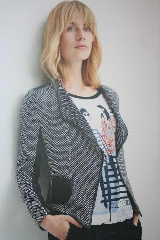 Barbara Lebek jacket instore and online,