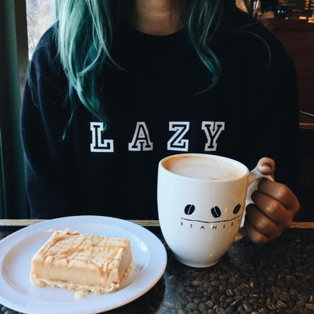 LAZY Tumblr sweatshirt sweater tshirt unisex adult size S-3XL