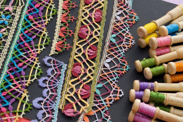 El blog de Dmc: Hilos para encaje de bolillos