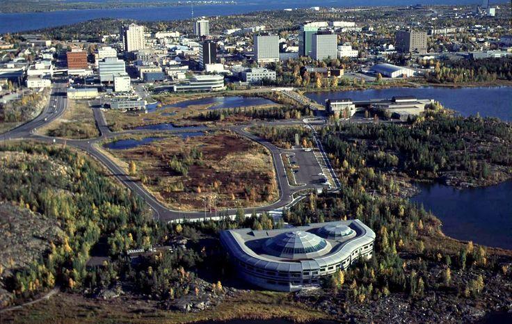Yellowknife, Cidade do Canadá