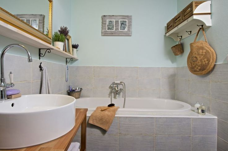 Detail vane a umývadla