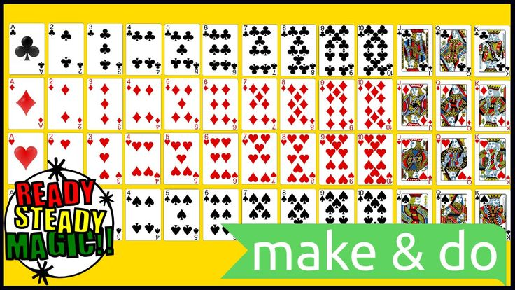 An Introduction to Playing Cards for Children | Ready Steady Magic An Introduction to Playing Cards for Children. Help so that you can understand what the suits and values of playing cards are, and how they are used in magic card tricks and playing card games.